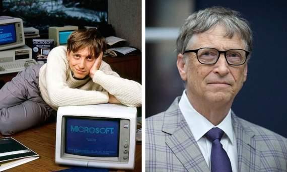 Богатые люди в начале своей карьеры и на вершине Олимпа