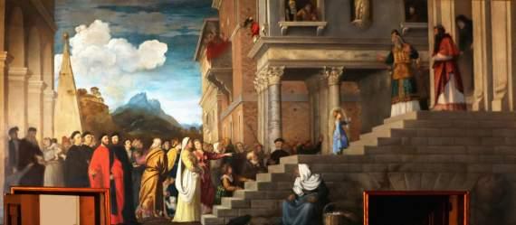 4 грудня cвято Введення в храм Пресвятої Богородиці