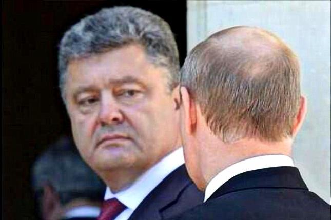 Попабольный сюрприз Путину и его банде от Порошенко и компании