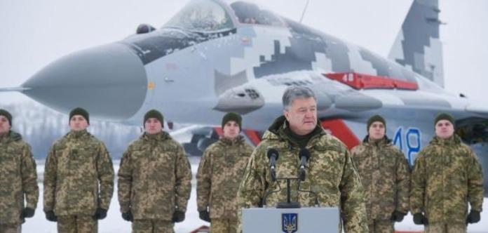 Порошенко назвав кількість озброєння РФ навколо України