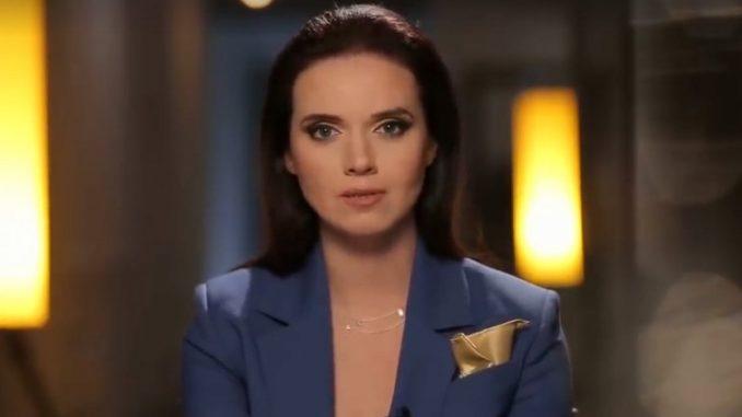 Скандал на российском ТВ: соцсети взорвало видео с заявлением Соколовой в прямом эфире