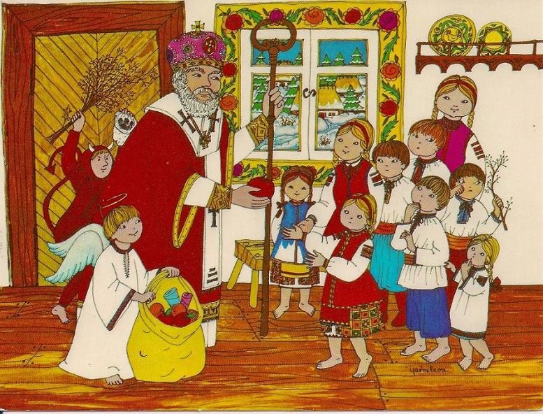 #СвятийМиколай лагідно витіснив совкового дєдамароза. Зі святом, українці!
