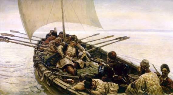 Пираты Каспийского моря: какими они были