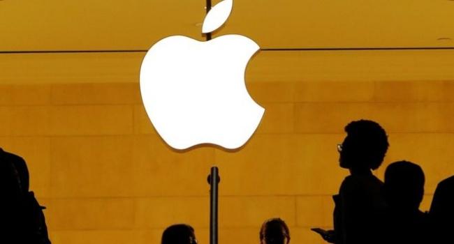 Акции Apple снизились примерно на 200 пунктов