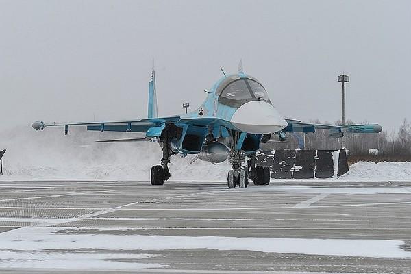 Два истребителя Су-34 столкнулись в небе на Дальнем Востоке