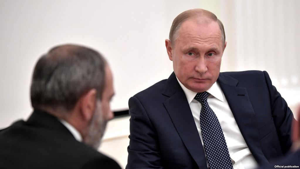 Новогодний подарок от России Армении – газовый кнут