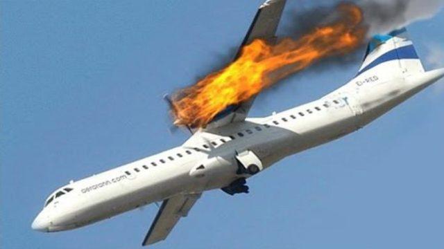 Огонь охватил пассажирский самолет: «больше 100 людей на борту»