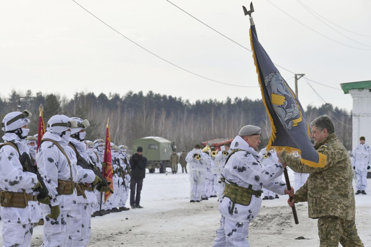 Президент Украины утвердил девиз и символику Сил Специальных Операций
