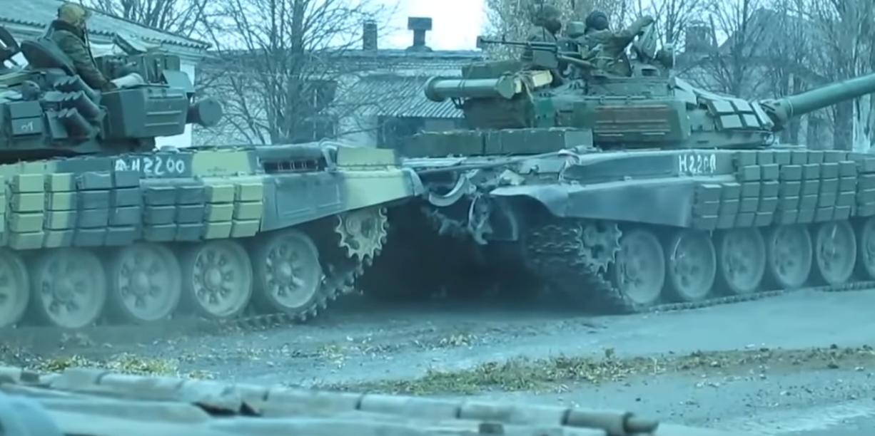 В районе Круглика и Мирного обнаружены десятки российских танков и гаубиц, – СЦКК