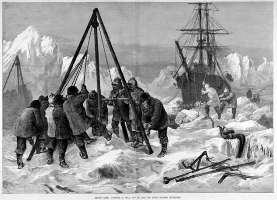 Экспедиция Жаннетт и другие катастрофически неудачные полярные экспедиции