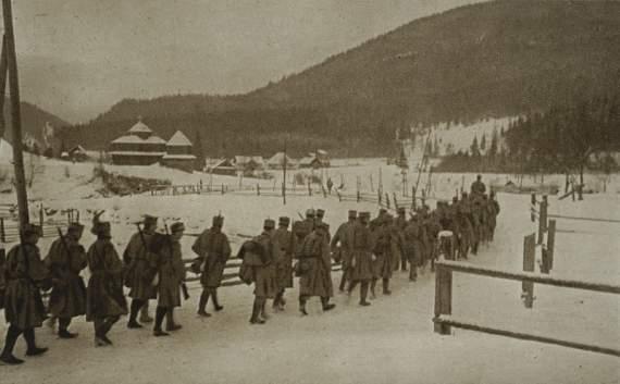 Мятеж польского легиона при Редковцах в Западной Украине
