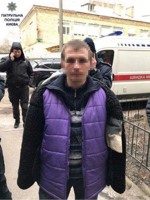 «Ниндзя» напал на женщину в Киеве: «притворился мертвым»