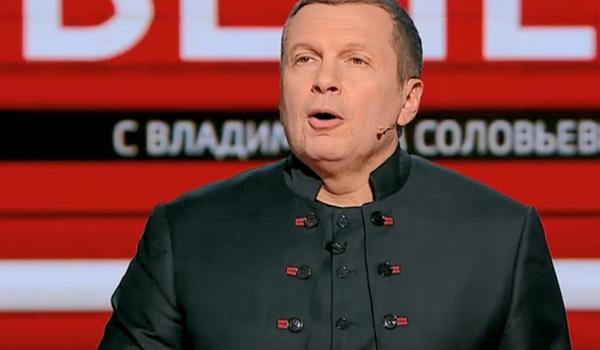 «Очнитесь! Мы на вас смотрим, как на сошедших с ума близких родственников!» Соловьев взбесился из-за заявления Украины о «холодном мире» с РФ