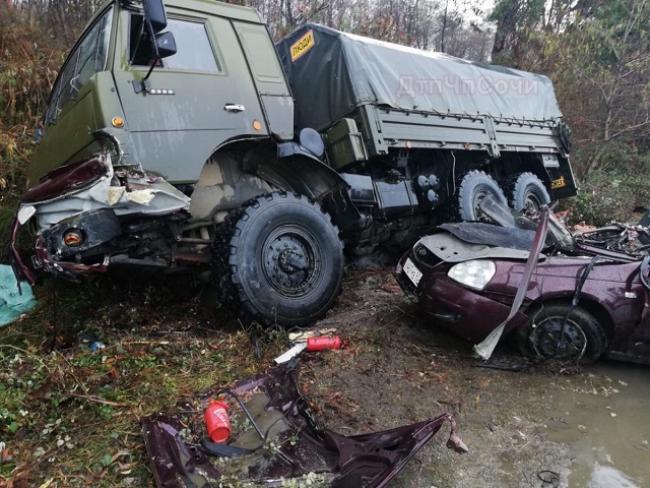 Российские военные устроили кровавое ДТП в Абхазии. ФОТО
