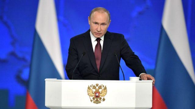 Российский журналист высмеял выступление Путина: «Психотерапевт перед пациентом»
