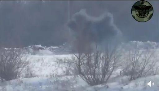 Украинские военные уничтожили пулеметный расчет оккупантов на Луганщине. ВИДЕО