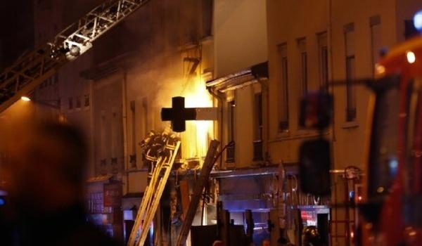 Во французском Лионе произошел взрыв. Есть жертвы