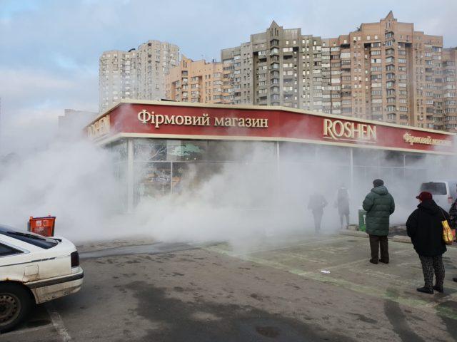 Сколько сожгли магазинов Roshen?