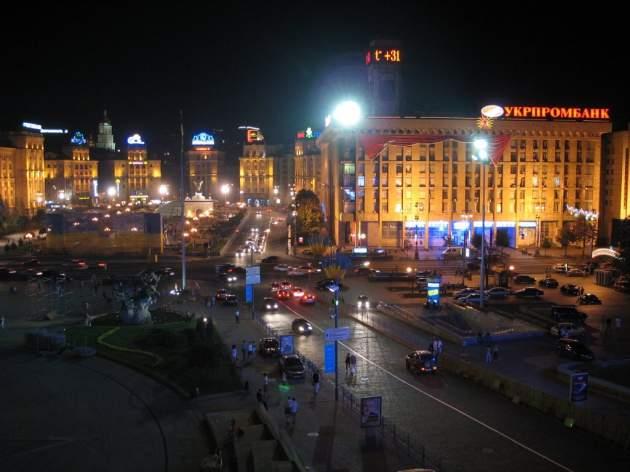 На Майдане киевлян безнаказанно грабят кавказцы
