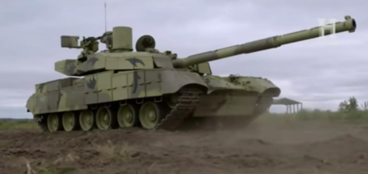 Американский телеканал снял зрелищное ВИДЕО об украинском танке «Оплот-М»