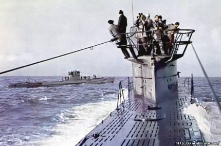 У 1945 році 20 німецьких човнів зайшли на військові бази Чилі