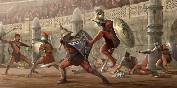 Какими были гладиаторские бои