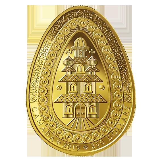 Канадцы выпустили «украинскую» монету стоимостью 5 тысяч долларов: «из чистого золота»