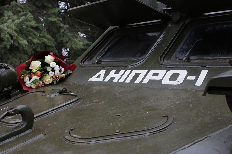 Жители Днепропетровщины поздравили с юбилеем батальон «Днепр-1». ФОТО