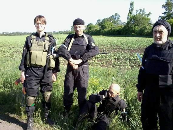 Карловка – первый бой батальона «Донбасс»