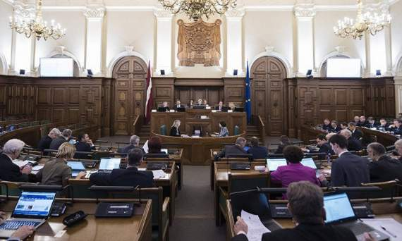 У Латвії хочуть заборонити георгіївські стрічки