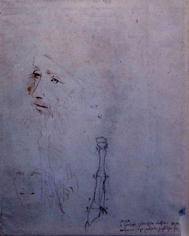 Неизвестный портрет Леонардо да Винчи нашли в Виндзорском замке: уникальная картина