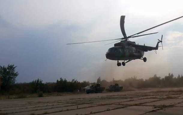 Под Ровно разбился военный вертолет: есть погибшие