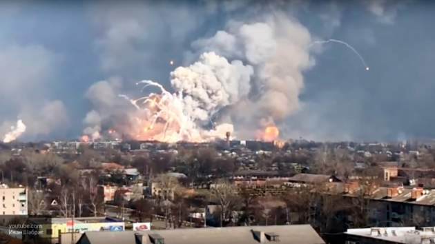 Савченко заявила, что арсенал в Балаклее подорвали по личному приказу Порошенко