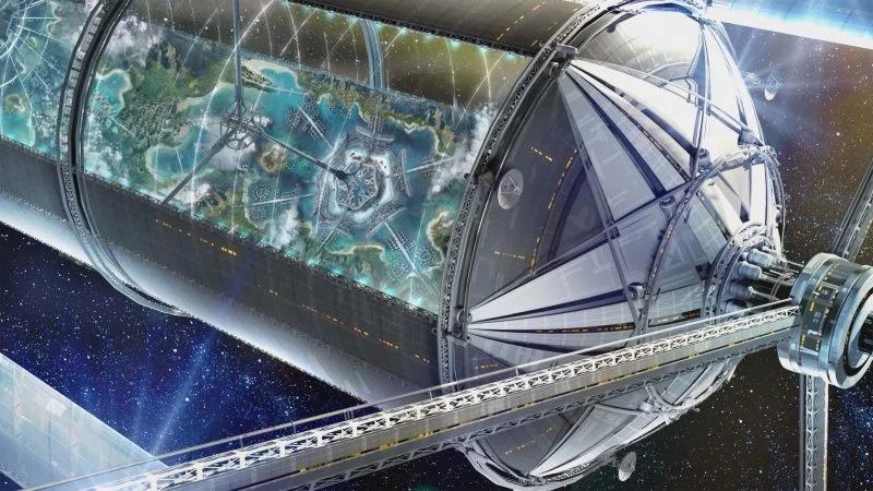 У орбиты Земли построят поселение с гавайским климатом: как это будет выглядеть
