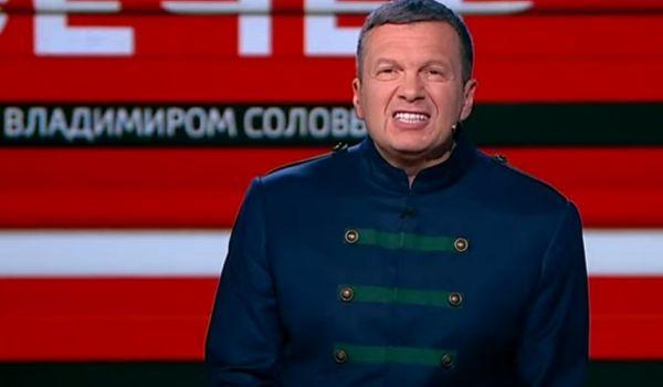 «Будете получать как нацисты по башке!»: Соловьев пригрозил Украине вторжением путинских войск