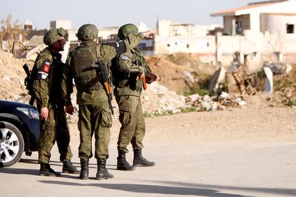 Стало известно об отступлении российских военных в Сирии