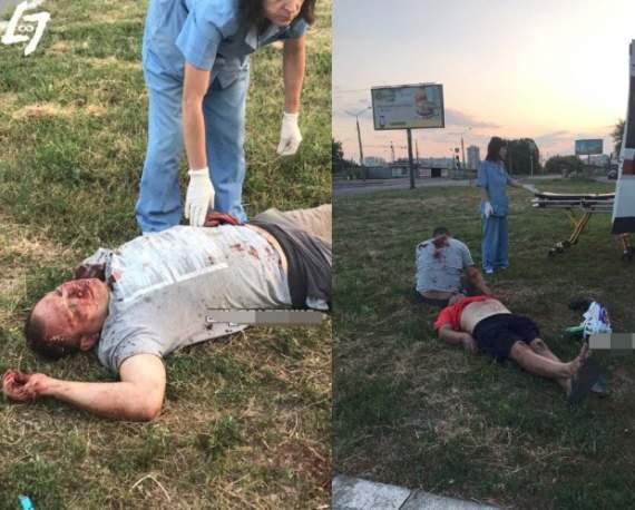 В Харькове жестоко проучили фанатов Путина. ФОТО