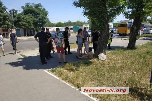В Николаеве скорая сбила школьницу и скрылась. Видео
