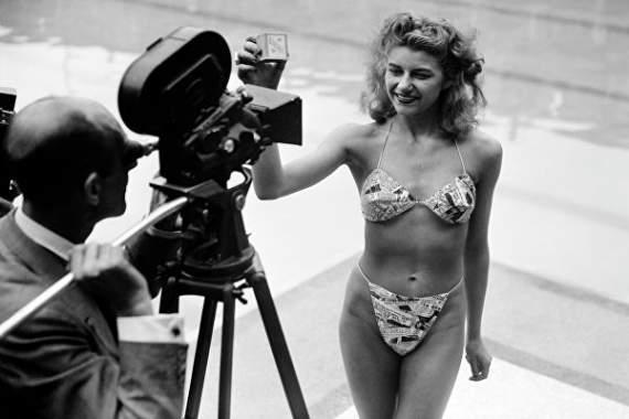 День рождения бикини: как дизайнер изобрел «атомную» модель купальника
