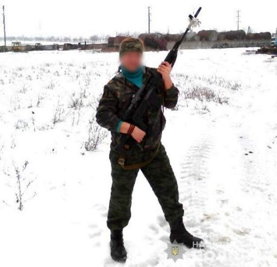 На Донбассе задержали террористку «днр». ФОТО