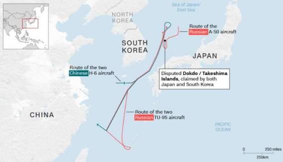Япония перехватила российские самолеты: известны подробности