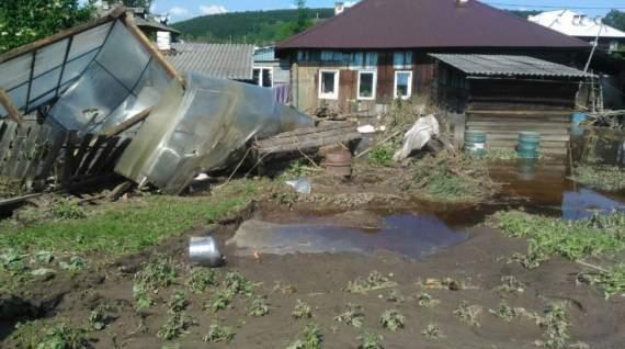 В пострадавшем от паводка регионе России нашествие мародеров