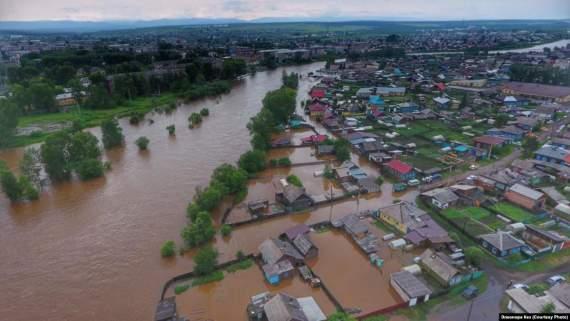 Потоп в РФ: новые данные о жертвах и пострадавших