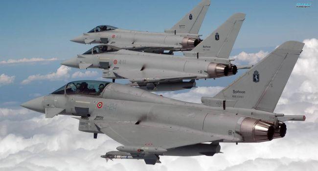«Что произошло в небе над Эстонией?»: истребители НАТО Typhoon экстренно поднялись в воздух для перехвата российского самолета