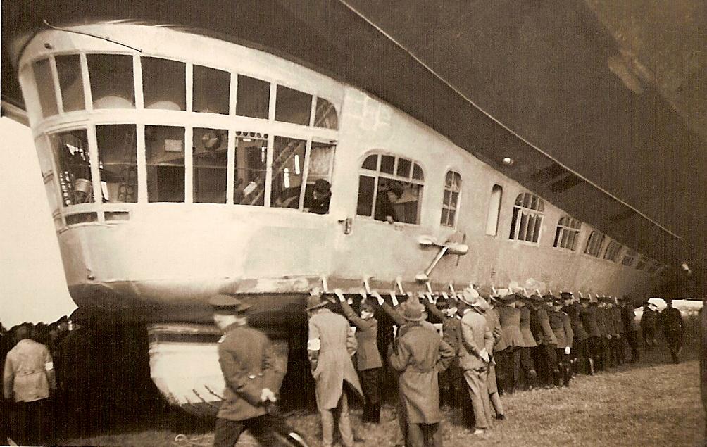 Первый полёт Цеппелина