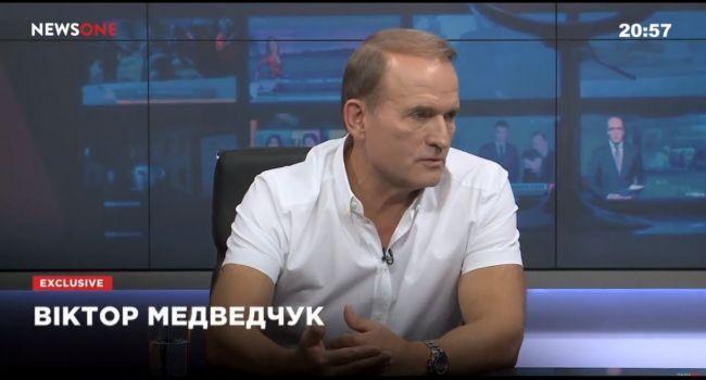 Политолог назвал условие, когда Медведчук ближе к весне продаст все свои каналы