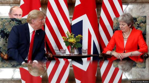 Уши ГРУ торчащие в скандале между США и Великобританией