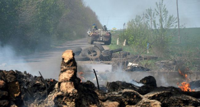 Внимание, работает артиллерия ВСУ: штаб российских военных у Горловки взлетел на воздух