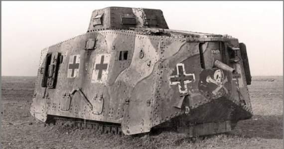 «Мефисто», он же один из первых немецких танков.