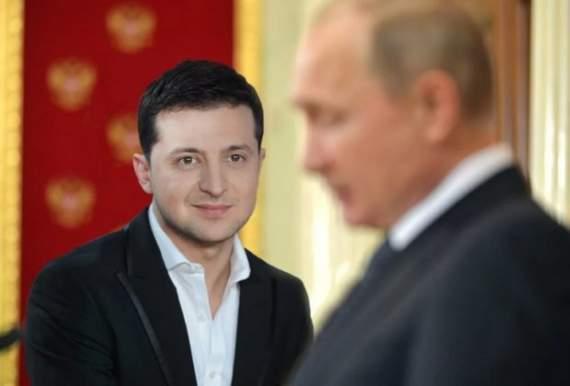 Сім прикладів того, яке Зеленський повторює Путіна